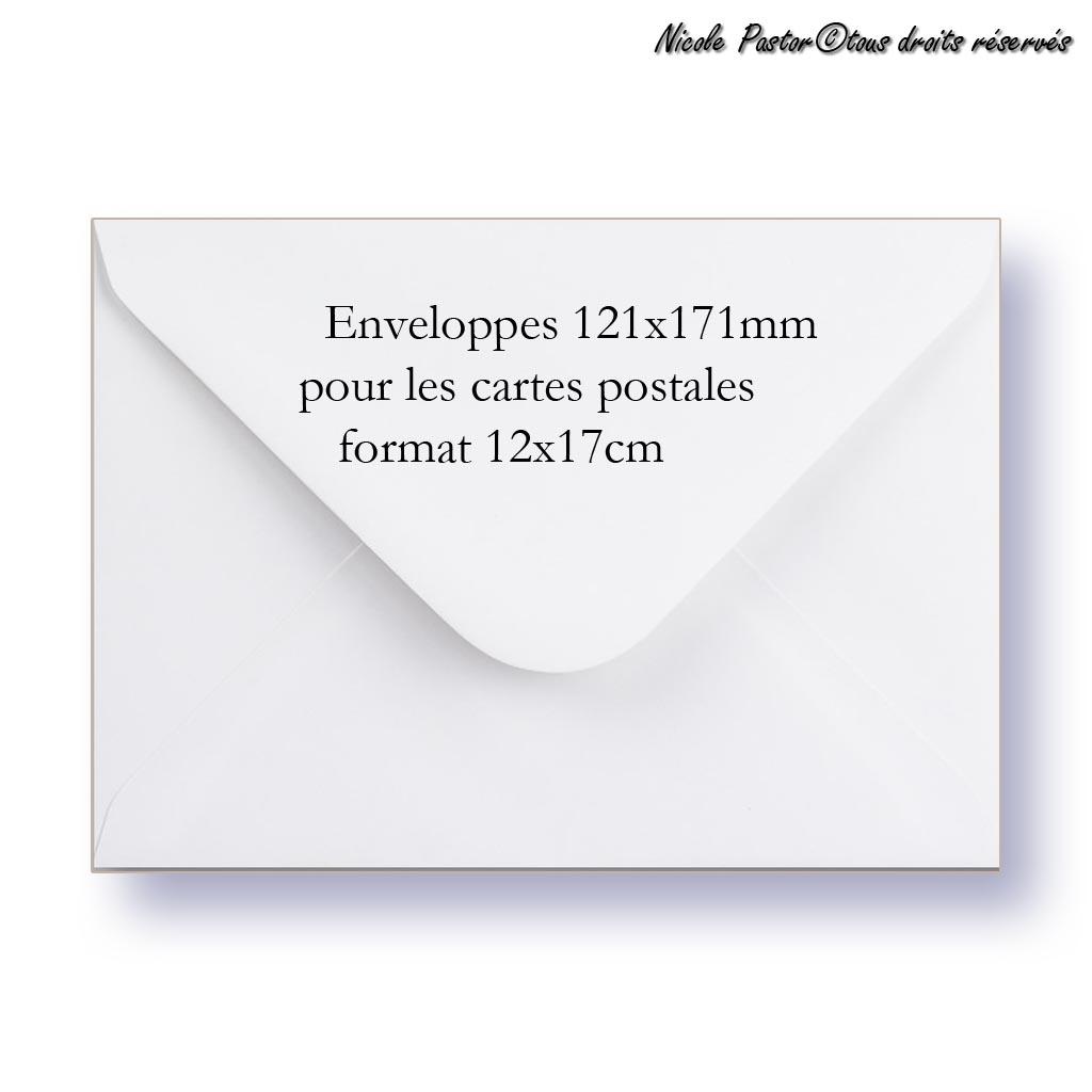 Quel est le format des cartes postales ?