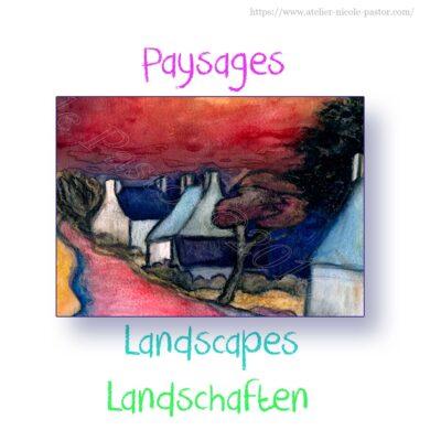 Paysages pastels