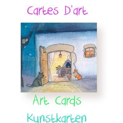 Cartes d'art