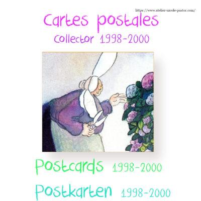 Cartes postales 1998-2000