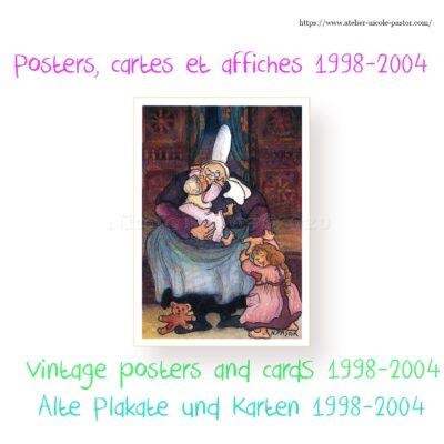 Posters, cartes et affiches 1998-2004