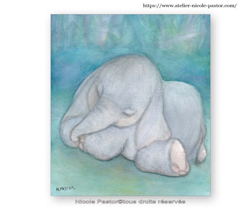 Naissance d'un éléphant