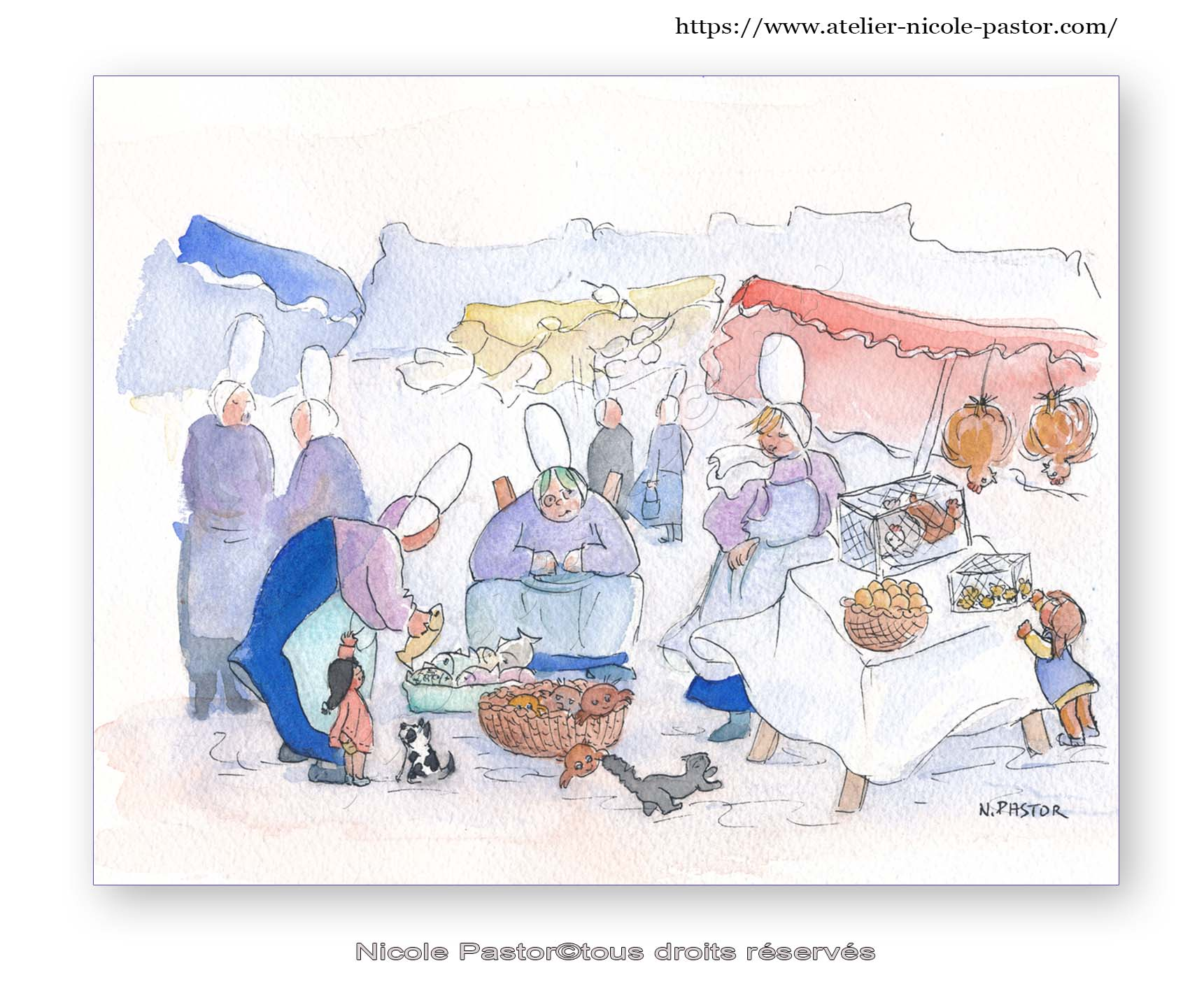 Marchés de Bretagne.