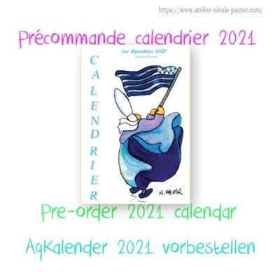 Précommande calendrier 2021