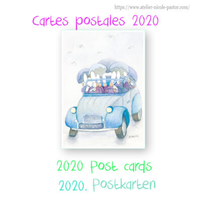 Cartes postales 2021