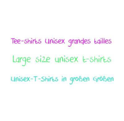Tee-shirts big size