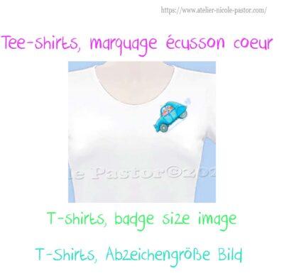 T-shirts image 10x10cm