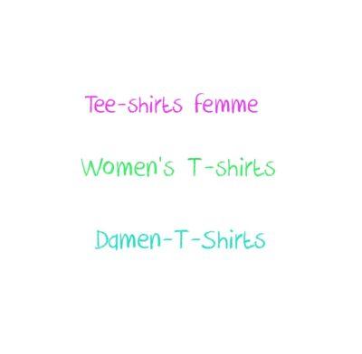 Tee shirts femme